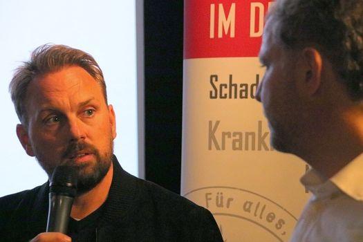 Steven Gätjen und Hendrik Bockelmann im Gespräch