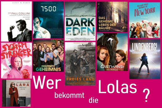 Collage der 11 DFG-versicherten Filme